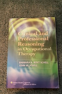 Clinical and Professional Reasoning in Occuptional Therapy
