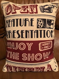 Movie Theater Pillows