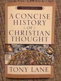 A Concise History Of Christian Thought by Tony Lane Virginia Beach, 23464