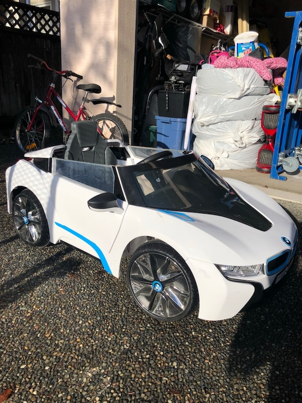used bmw i8 power wheels for kids for sale in surrey - letgo