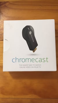 Chromecast new in the box never used