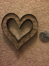 Decorative light up wall heart from hobby lobby    Fairfax, 22033