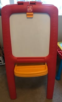 Step2 Chalk/Magnetic board