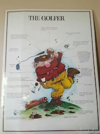 Vintage Gary Patterson Poster Boards  The Skier Th Edmonton, T5G 2A4