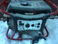 Black and gray portable generator Albany, 12210