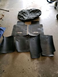 Jeep Wrangler floor mats and tire cover Royersford, 19468