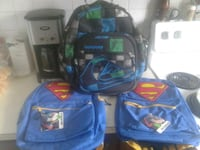 1 quicksilver & 2 New Superman backpack with tags. Red Deer, T4P 1C9