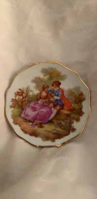 Porcelain Victorian FRAGONARD Love Story Limoges Olney, 20832