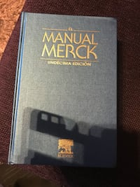 El manual merck book. Precio negociable  5652 km