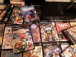 ps2 and all games with controller. 20 plus