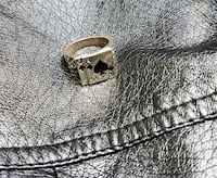 The Ace and Jack of Spades Ring Size 9 Las Vegas