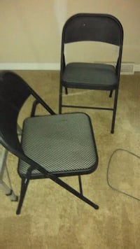 2 folding chairs.  Nice canvas seat.  New