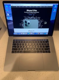 MacBook Pro 15in 2017 with Touch Bar $1300 Oklahoma City, 73099