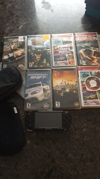 PSP 2001  with games and cases Toronto, M1B 1C4