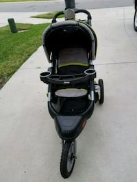 baby's black and gray jogging stroller Ruskin, 33570