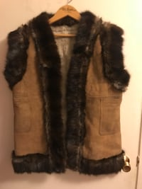 brown and black fur coat Oakville