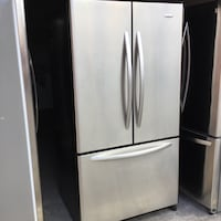 French doors refrigerator Whirlpool stainless steel Oakland, 94621
