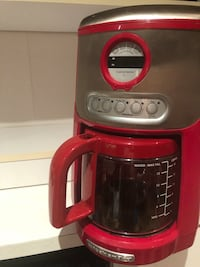 Kitchen aid automatic coffee maker 12 cups  New City, 10956