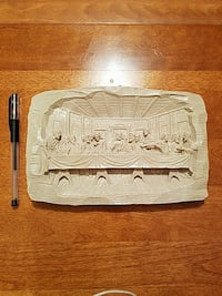 last supper scene, made from volcanic ash Oakville, L6M 4P4