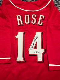 Autographed Pete Rose Jersey Frederick, 21702