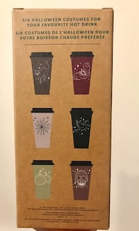 NEW limited edition starbucks halloween reusable hot cups Silver Spring, 20902