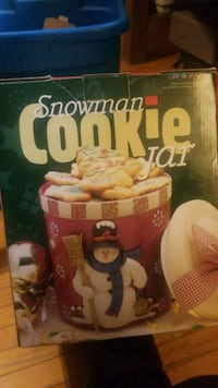 Snowmane cookie jar  Winnipeg