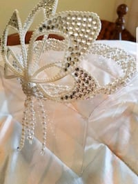 Wedding crown headpiece