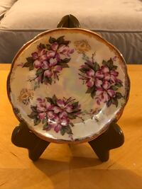Antique Saucer From Sterling China Of Japan.