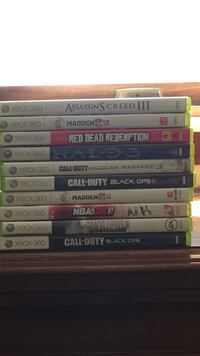 $15 each or $75 for all 10 games  Medfield, 02052