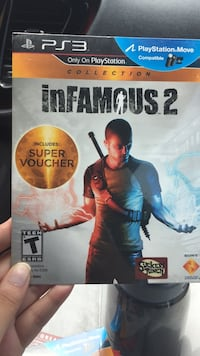 PS3 infamous 2 Tallahassee, 32301