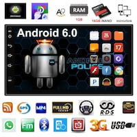 Radio 2 din Android universal