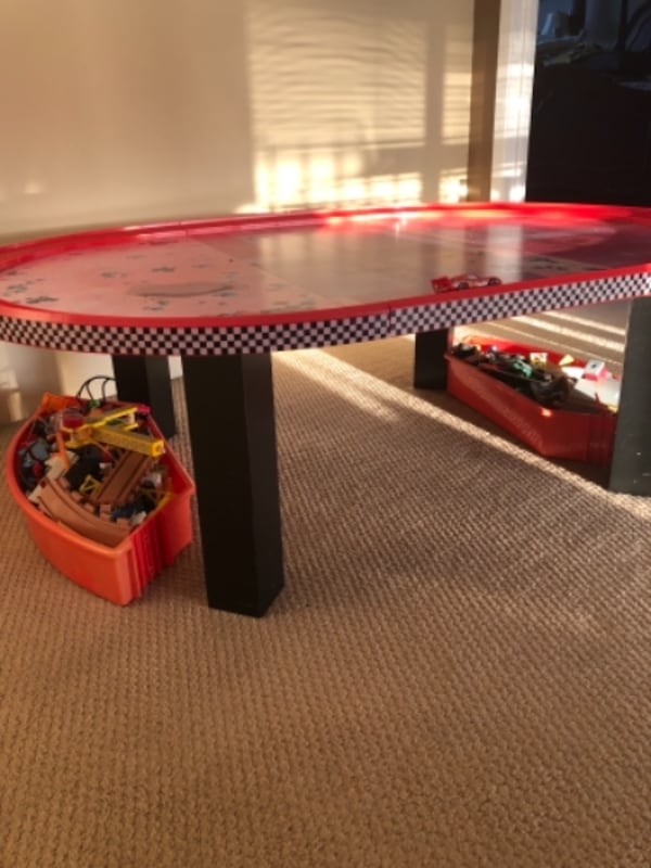 Cars Kids Play Table with Track 2