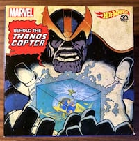 SOLD OUT! Exclusive Comic-Con 2018 Mattel Hot Wheels Marvel Thanos Die Cast Helicopter in Cosmic Cube Whittier, 90605