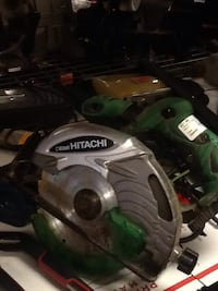 black and green Hitachi circular saw Hagerstown, 21740