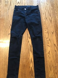 Mens Black Daily Issue Jeans