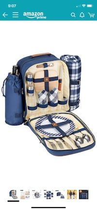Insulated Picnic Backpack for 2 Arlington, 22201