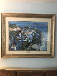Howard Behrens signed and numbered Litograph