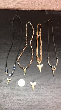 Shark Tooth Necklaces Minneapolis, 55418