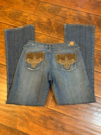 Sz 7 bootcut jeans by Hint Jeans