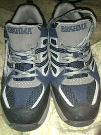 pair of gray-and-black steel toes Brahma brand Cleveland, 37323