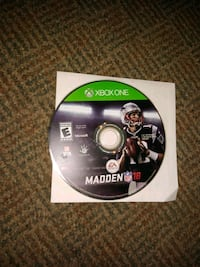 Madden NFL 18 Xbox one video game