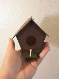 Hand painted/Hand assembled birdhouse Norman, 73071