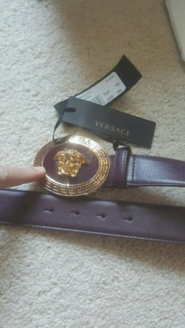Versace belt - Louis Vuitton Gucci Fendi Balenciaga Givenchy 5