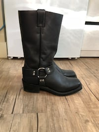Pair of black leather boots Edmonton, T5R 1B8