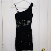 New black sequence party dress size s Orlando, 32825