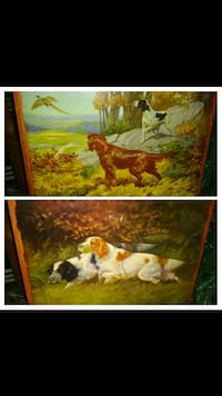 Set of Hunting Dog Pictures Nashville, 37214
