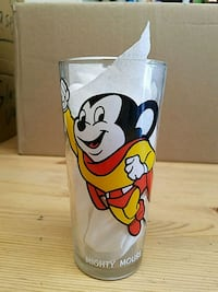 Rare 1977 Mighty Mouse collectors glass Porterville, 93257