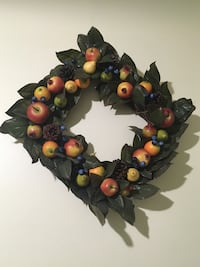 brown and multicolored floral wreath Mississauga, L5A