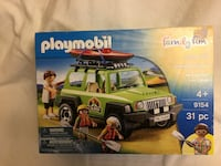 Play Mobile SUV off-road