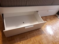 Ikea bed frame & mattress - double Toronto, M2N 5X8